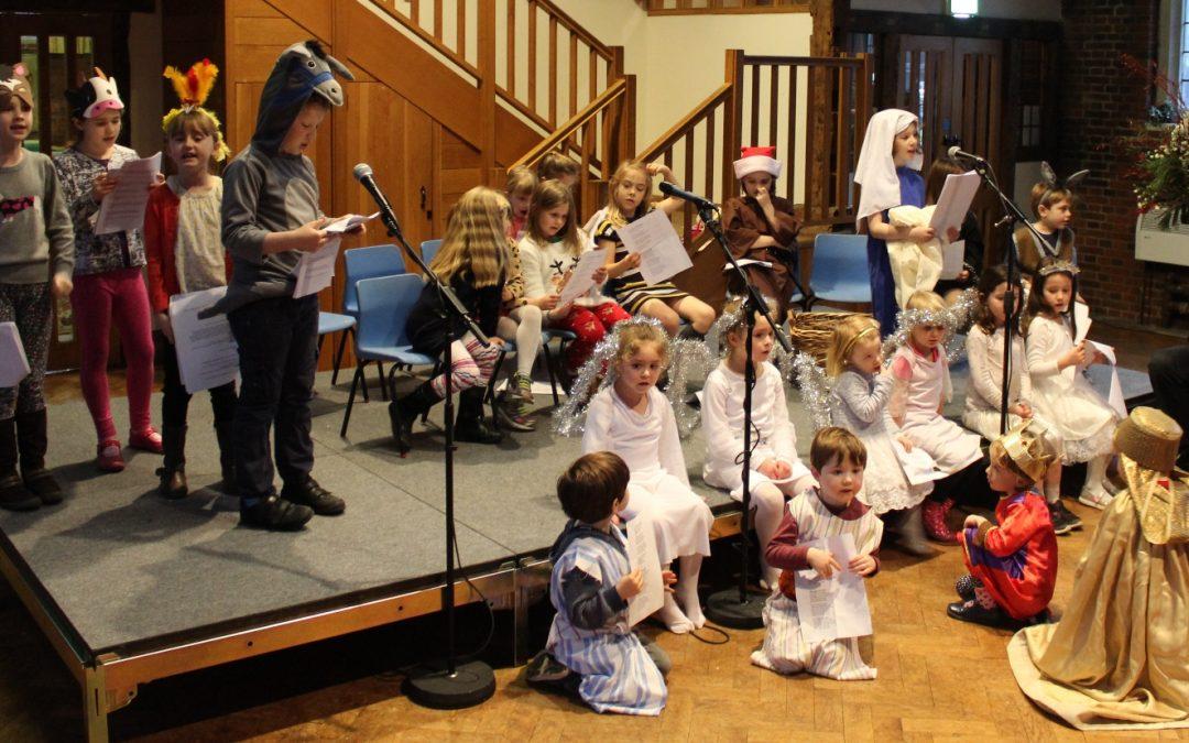 Junior Church Nativity Play