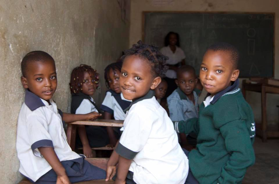 Collection for the Green Park School, Zambia