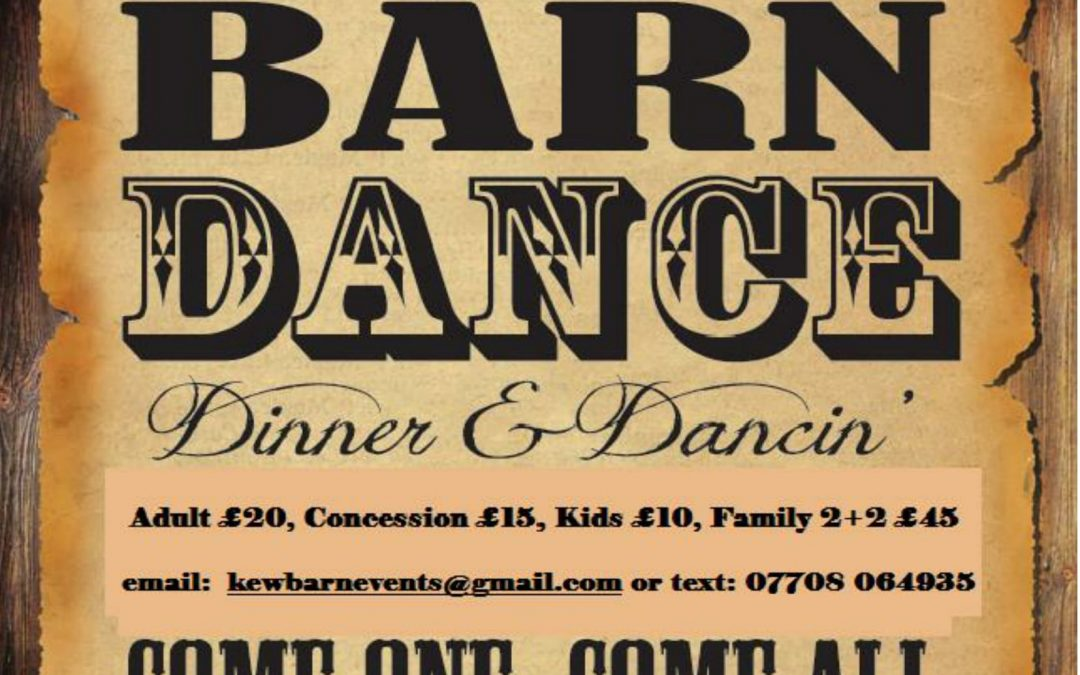 Harvest Supper & Barn Dance