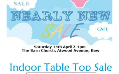 Table Top Sale at the Barn
