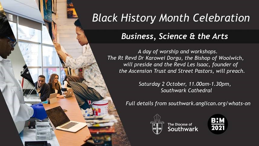 BLACK HISTORY MONTH CELEBRATIONS – ALL ARE WELCOME!